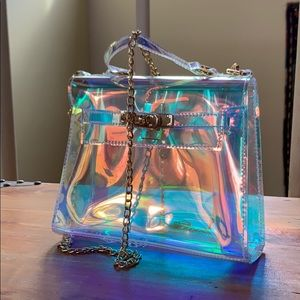 Handbags - Rainbow 🌈 color clear mini purse